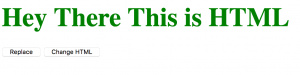 jquery tutorial fungsi html