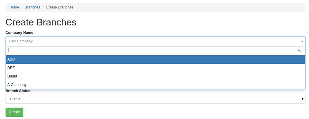 Tutorial Yii2 Bagian 14 : Membuat DropDown Search Select2