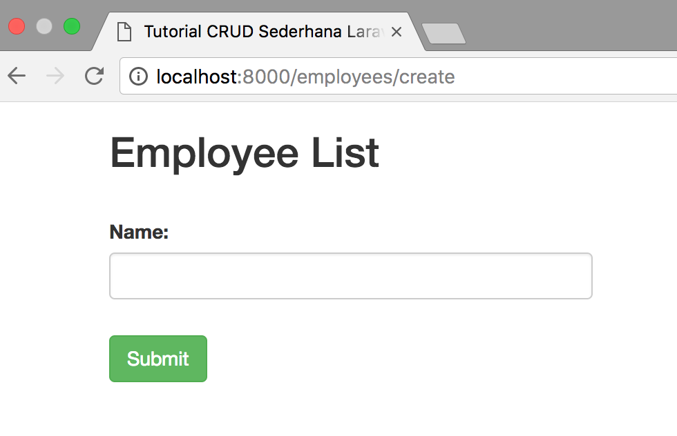 Simple Basic CRUD Laravel 56