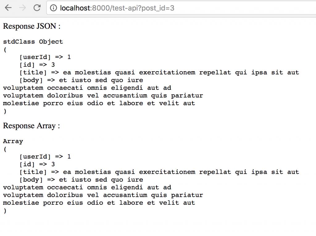 Tips Laravel Basic API