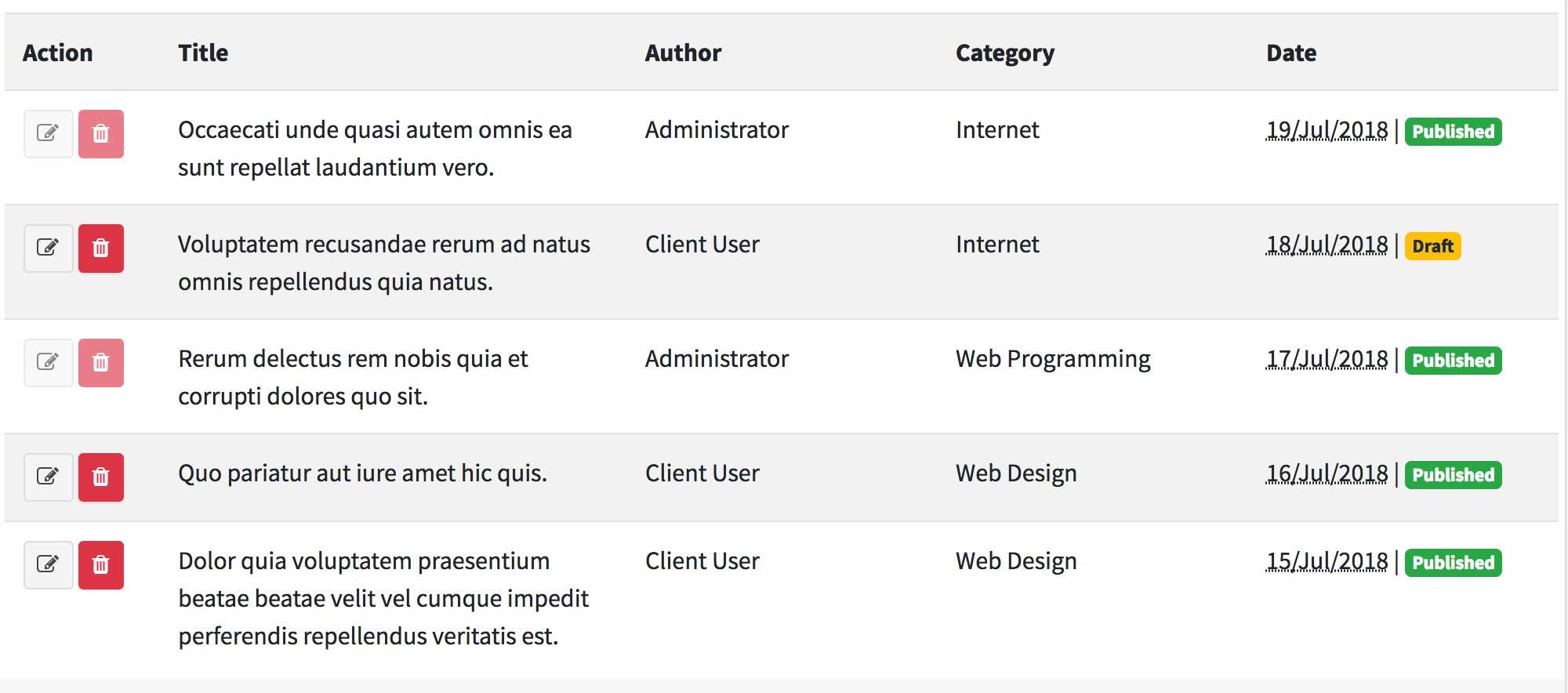 Access Control with Laratrust - WordPress-Like Blog Laravel 5.7 and AdminLTE 3 (17-2)