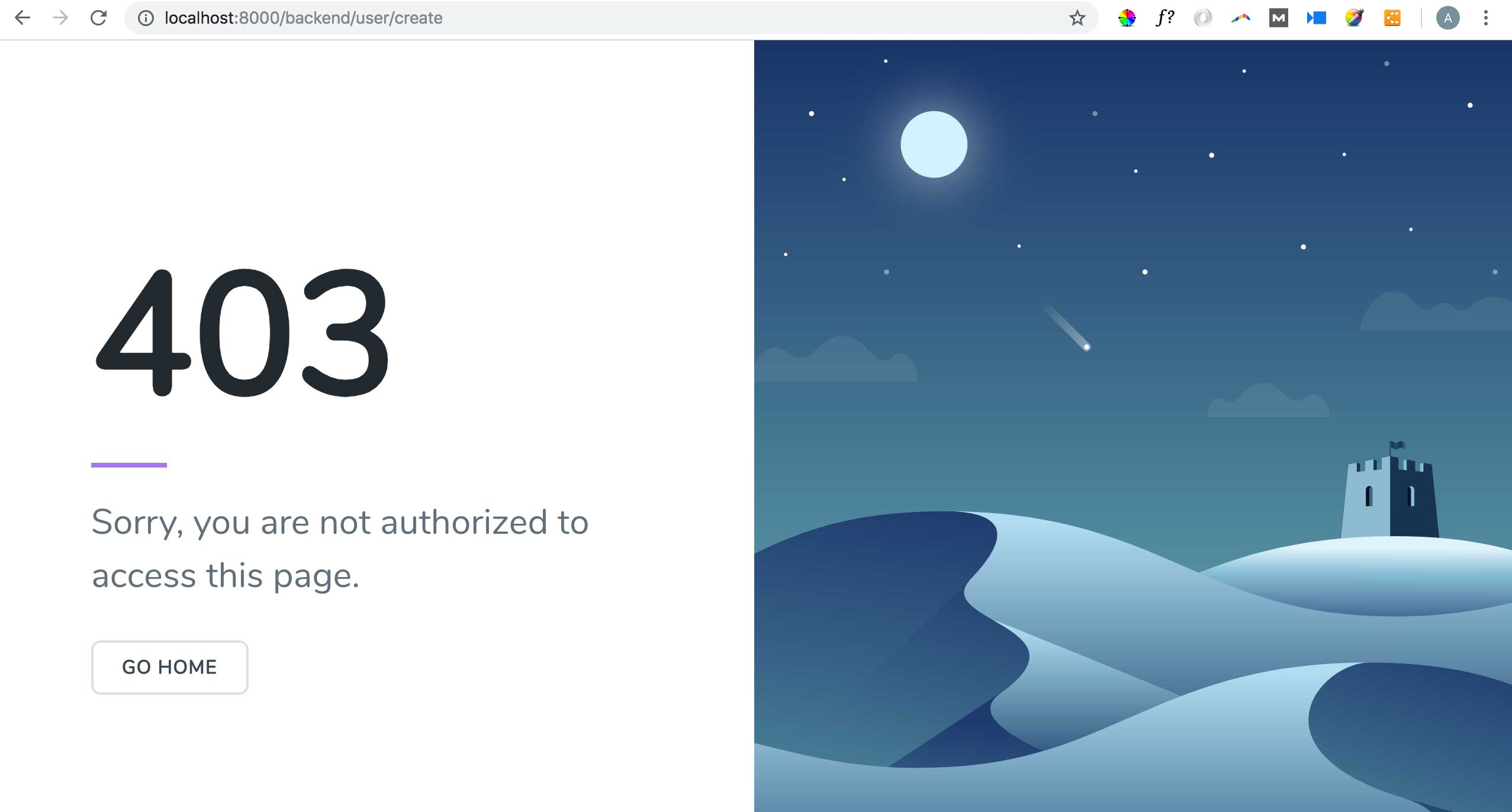 Access Control with Laratrust - WordPress-Like Blog Laravel 5.7 and AdminLTE 3 (17)