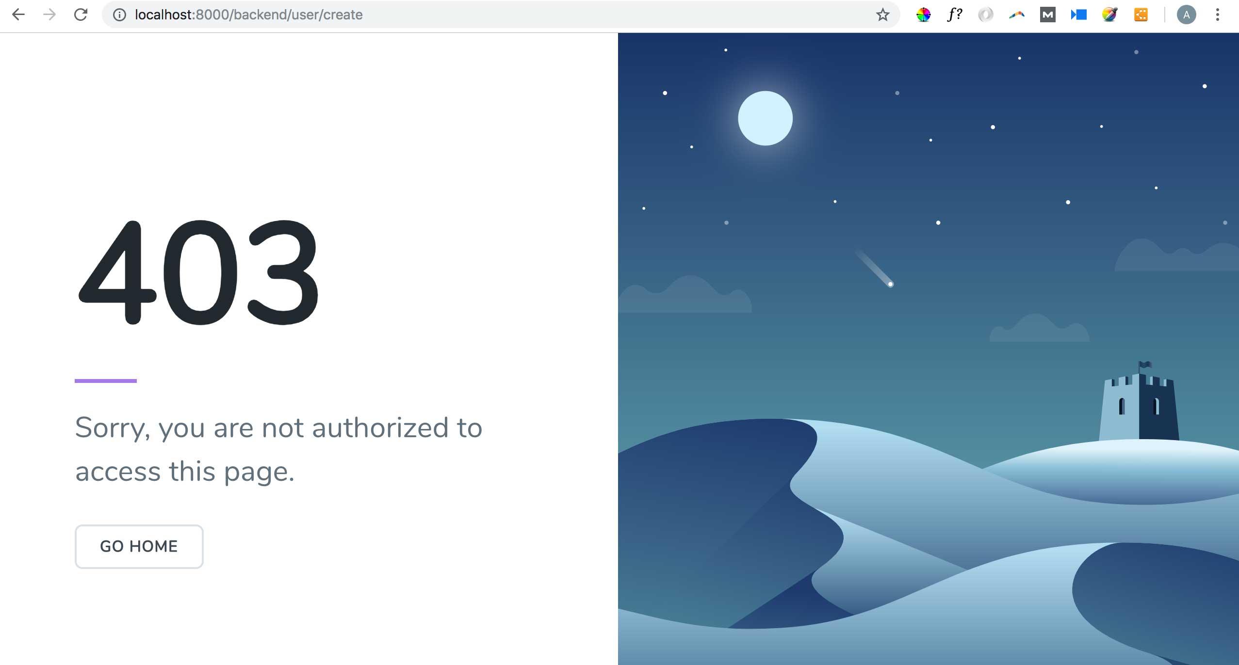 Access Control with Laratrust - WordPress-Like Blog Laravel 5.7 and AdminLTE 3 (17)
