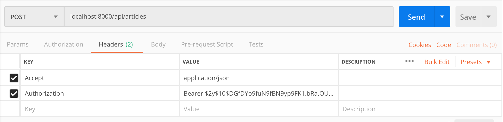 Basic Laravel 5 7 CRUD API using Fractal and Transformers