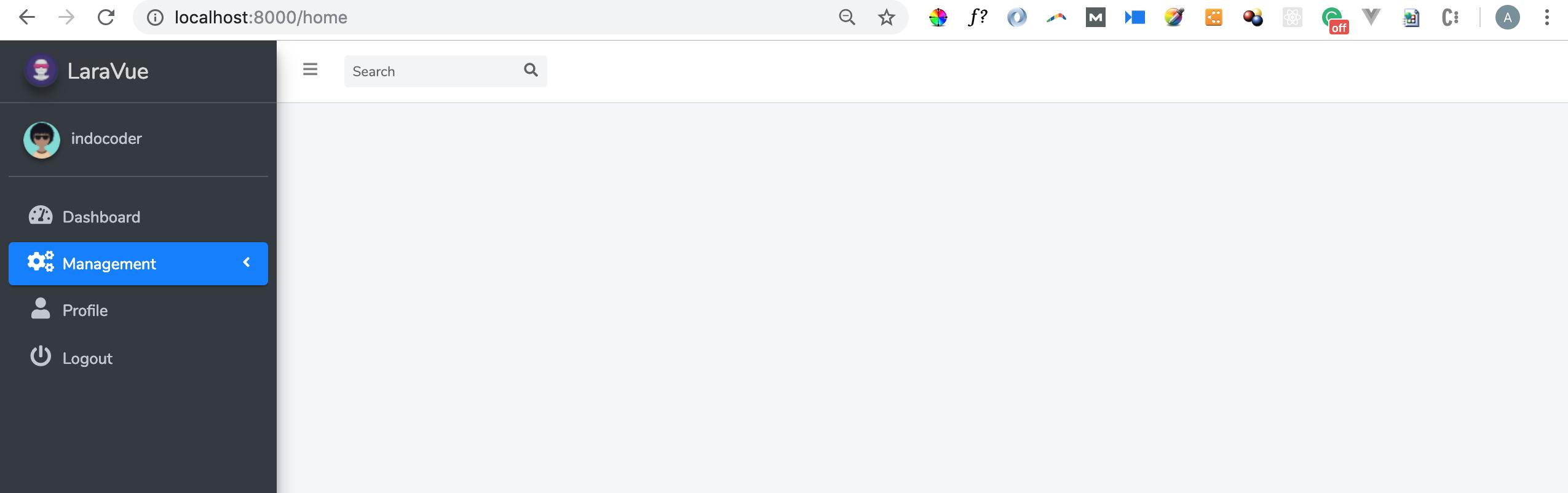 Laravel 5 7 + VueJS Basic CRUD - indocoder com