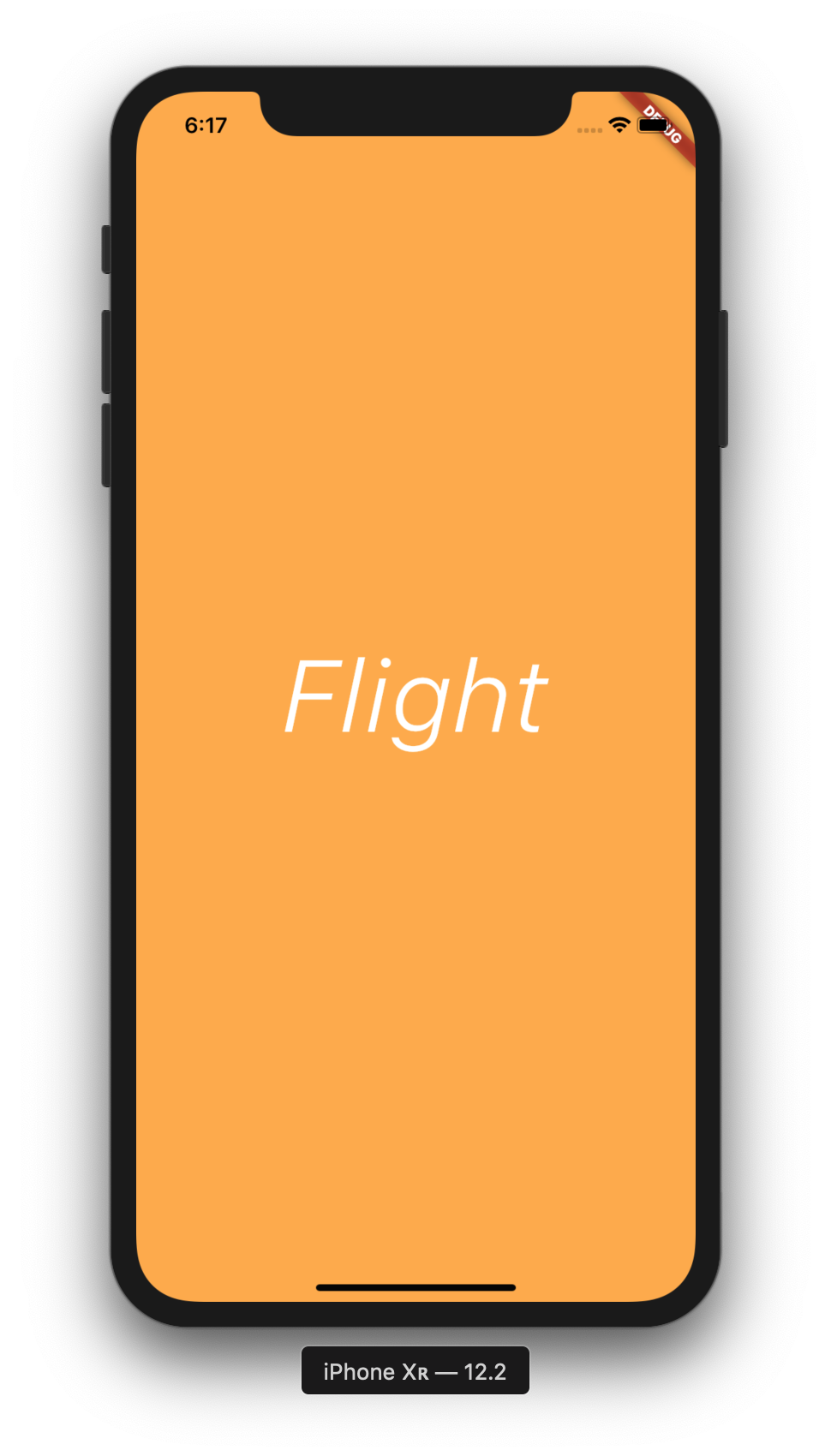 Aplikasi Flutter Flight