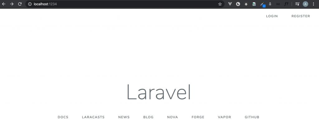 Laravel Homepage